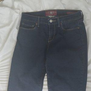 Lucky brand women's blue jeans Sofia Straight